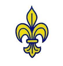 Patch backpack fleur de lis lys symbol France symbol  royal heraldry