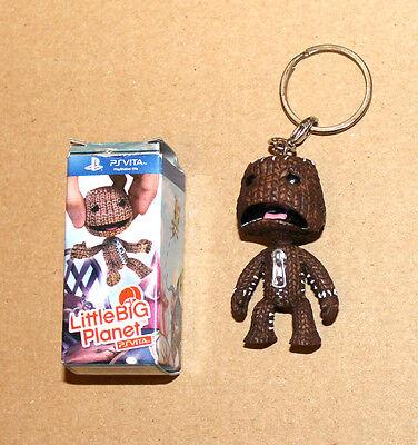 Little Big Planet Sackboy Sack Boy Playstation Keyring Keyfob Handmade Fun Gift