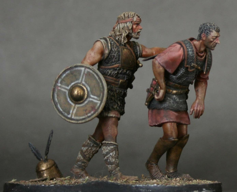 Tin Soldier, konst, slåss {65533;65533; 1, bilthagianska armén, Rome Legionary, Punic Wars,54 mm