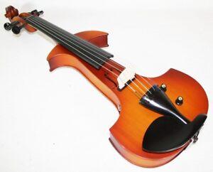 6 Cordes Violon Électrique / E-violon Avec Accessoires, Violon ExtrêMement Efficace Pour Conserver La Chaleur