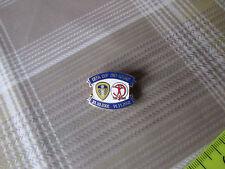 LEEDS United v HAPOEL Tel Aviv 2002 UEFA Cup Both Games FOOTBALL Pin Badge