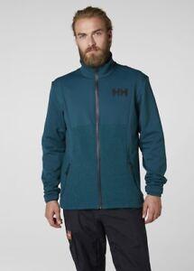 Details about Helly Hansen Ullr Men's Ski Fleece Jacket 51784436 Midnight NEW