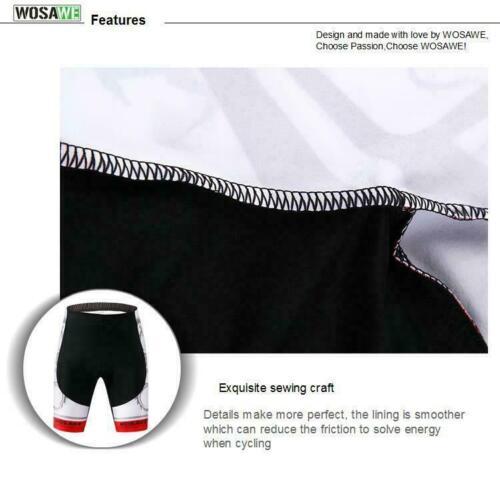 Men/'s MTB Team Bike Cycling Shorts Padded Bicycle Riding Tight Pants Quick Dry
