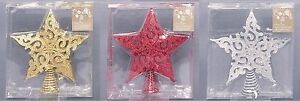 20cm-FILIGREE-STAR-CHRISTMAS-TREE-TOPPER-GLITTER-FESTIVE-DECORATION-XMAS
