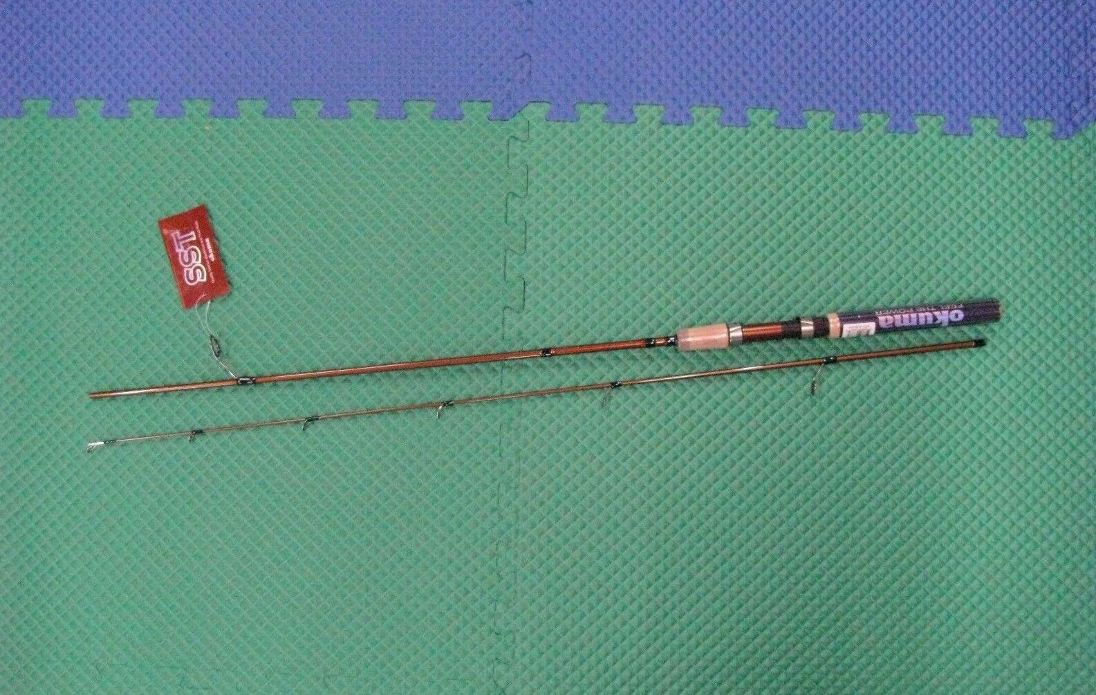 Okuma SST 6'  Spinning Rod Medium Action 2  Piece SST-S-602M  come to choose your own sports style