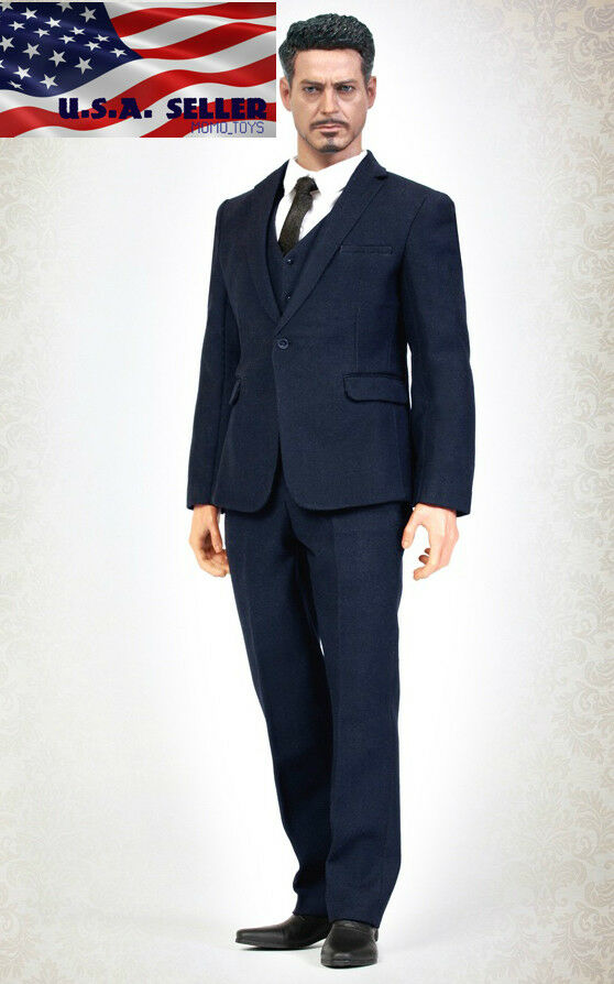 1 6 Men Business Suit Set Western Style B For 12 Hot Toys PHICEN Male Figure USA