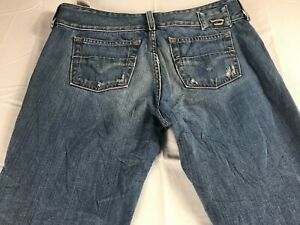 Diesel-Jeans-Cherone-Womens-29-Boot-Tall-Long-32-x-34-Actual-Italy-Made-Pants