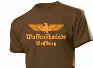 T-Shirt Weapon Forger Wolfsburg With Eagle Size 3-5XL Eagle Weapon Blacksmith
