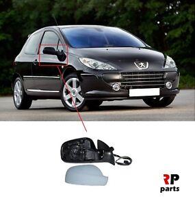 Para-Peugeot-307-2005-2007-IMPRIMADO-Ala-Espejo-Electrico-Climatizada-Derecho-O-S-LHD