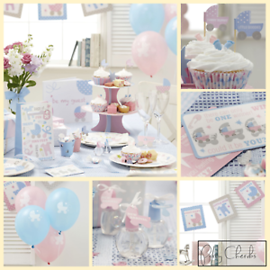 PINK AND BLUE BABY SHOWER DECORATIONS AND TABLEWARE  GENDER NEUTRAL BABY SHOWER - Reading, United Kingdom - PINK AND BLUE BABY SHOWER DECORATIONS AND TABLEWARE  GENDER NEUTRAL BABY SHOWER - Reading, United Kingdom