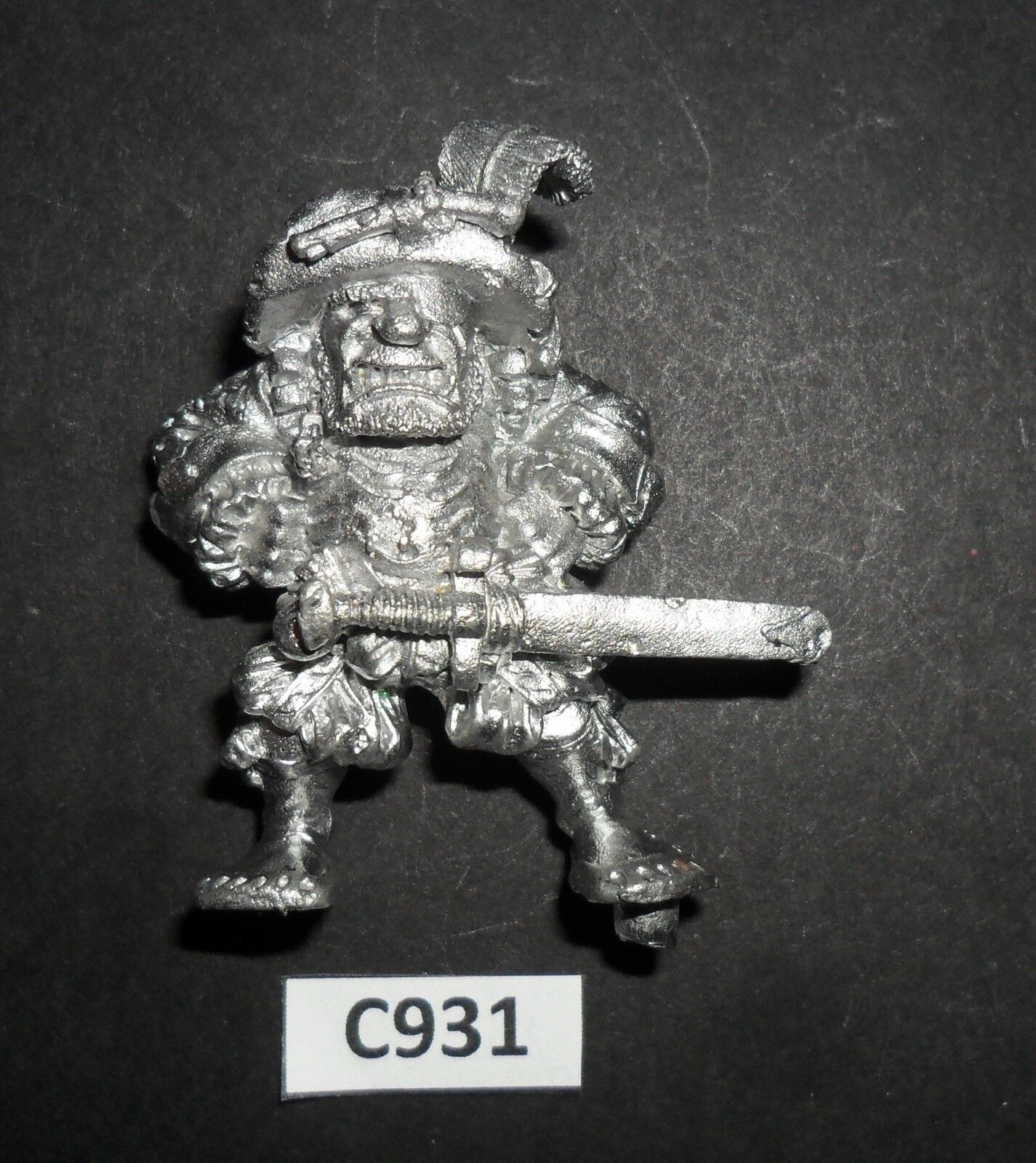 Warhammer Citadel Marauder Metal MS4 EMPIRE IMPERIAL OGRE MERCENARY HERO C 931