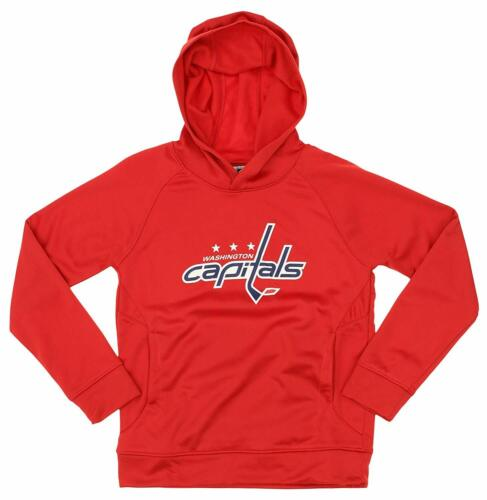 OuterStuff NHL Youth Washington Capitals Team Performance Hoodie Combo Set