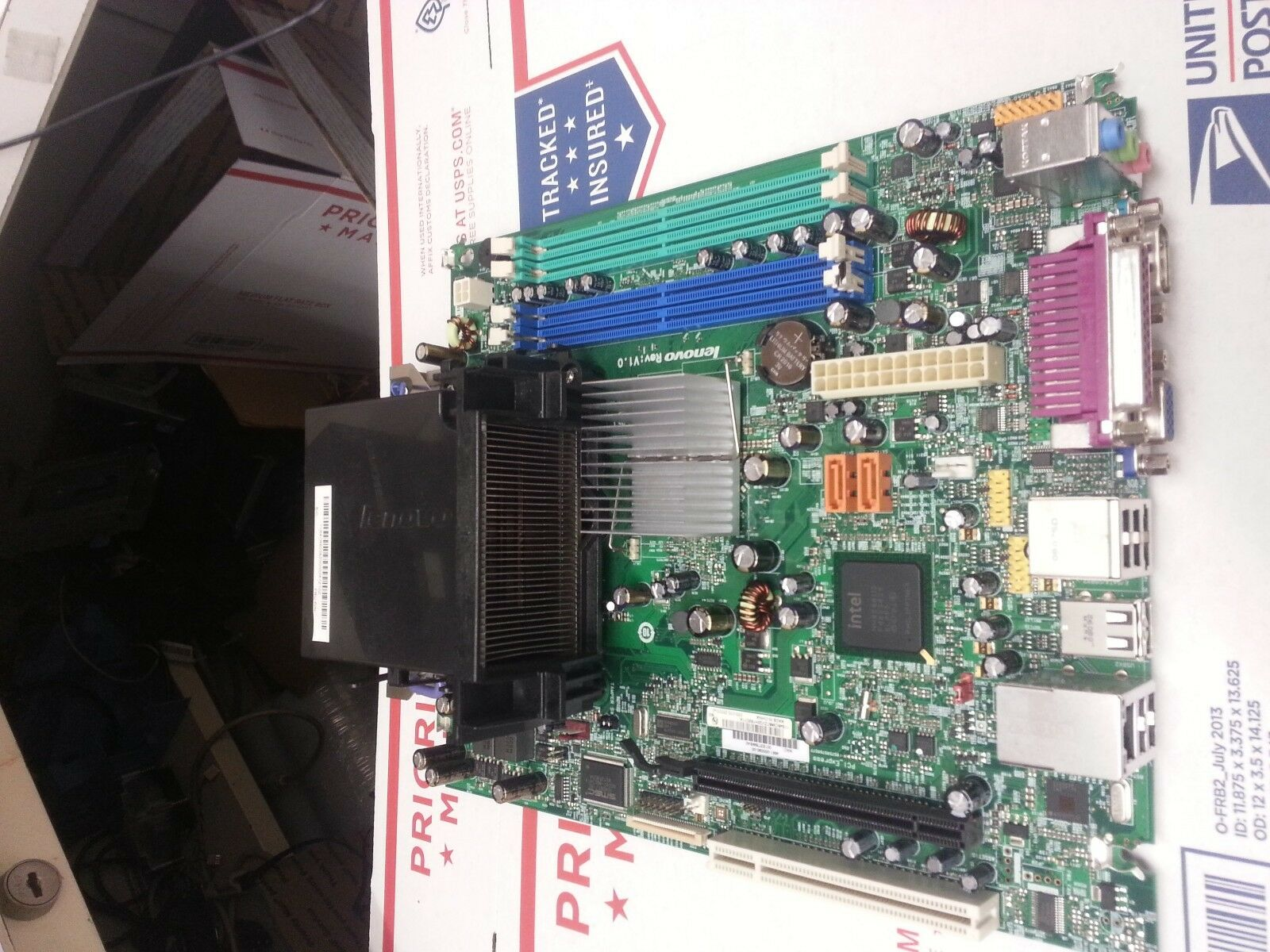 87H5128 Lenovo ThinkCentre M57 System Board AMT 45c1760 CPU C2d 2 66ghz bo