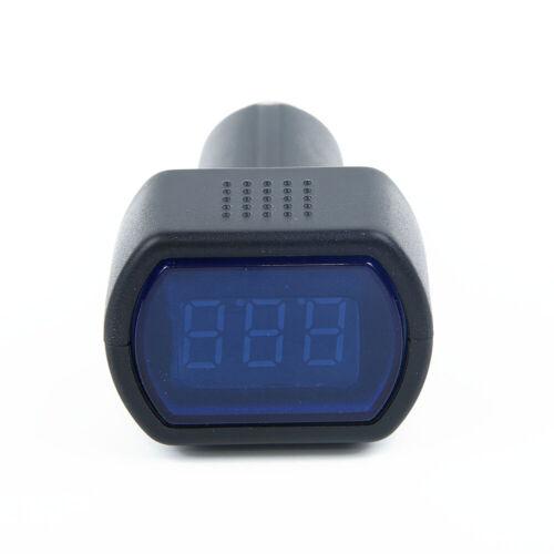 1PACK DIGITAL DC AUTO BATTERY VOLTAGE METER Voltmeter Car Lighter Socket Plug-in