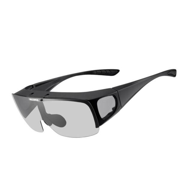 6661c70cf4ab RockBros Polarized Cycling Outdoor Sport Sunglasses Goggles for Myopia  Glasses
