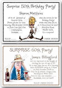 surprise invitations