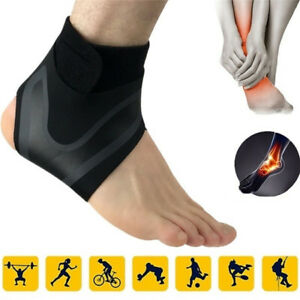 3e9919880a Image is loading Men-Adjustable-Ankle-Sleeve-Breathable-Dual-Compression- Ankle-