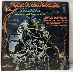 Night-On-Bald-Mountain-Stokowski-And-His-Symphony-Orchestra-PMC-7026-Lp-NM