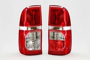 Toyota-Hilux-11-15-Rear-Lights-Lamps-Pair-Set-Driver-Passenger-Left-Right