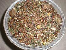 DETOX TEA ROOIBOS 12 HERBS TOXINS LIVER CLEANSE  slippery elm, licorice, burdock