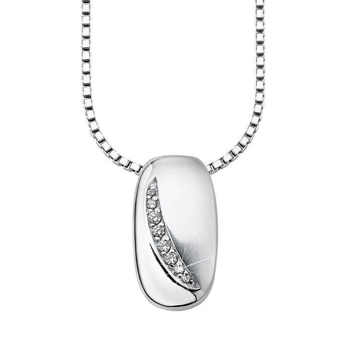 S. Oliver COLLAR women so628 silver 925