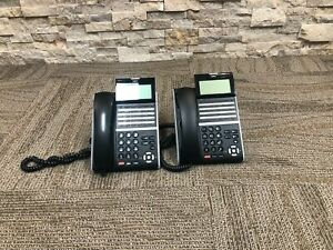 Desktop Telephones DZV XD NEC DT400 Series DTZ-8LD-3 BK 5 W-3Y BK Lot