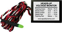 Sdc Heads-up Voltage Monitor 2-1/4x1-5/8-5/8