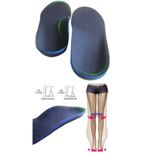 Orthotic Flat Foot Arch Support Cushion Shoe Insoles Pads Pain Relief Inserts