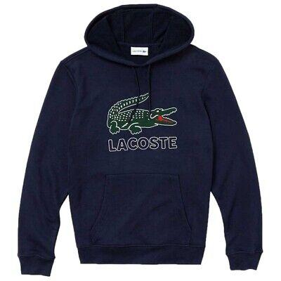 Lacoste Abbigliamento LACOSTE FELPA CAPPICCIO BLU SH6342 Blu mod SH6342