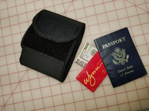 Contra-Band Ankle Cargo Cuff low profile EDC med Kit pouch NEW USA made black