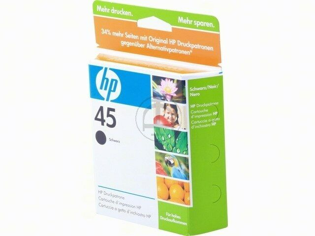 HP 51645AE  hp 51645 nr. 45 for Designjet 750c ORIGINAL RESTPOSTEN