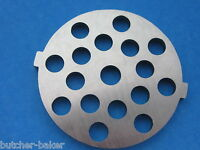 5/16 Large Hamburger Meat Grinder Plate Disc For Electric Rival Sunmile Deni
