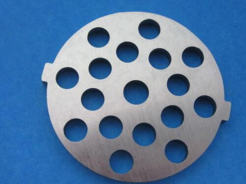 "5//16/"" Large hamburger Meat Grinder plate disc for electric Rival Sunmile Deni"