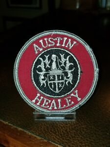 AUSTIN HEALEY round embroidered patch