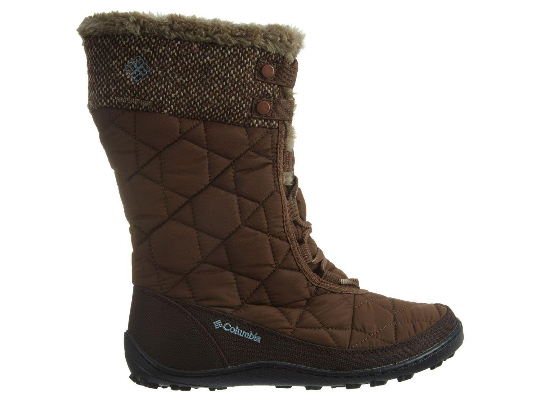 Columbia Minx Mid II Omni-Heat Womens BL1727-261 Umber Waterproof Boots Size 6