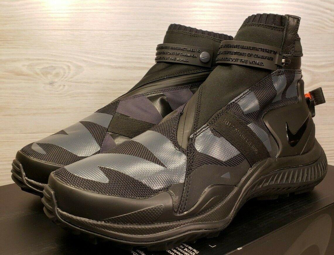 Nike NikeLab NSW Gaiter Boot Black Olympic Hiking AA0530 001 Mens 8   Womens 9.5