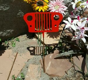 Kokopelli Metal Garden Yard Flower Bed Lawn Art Stake