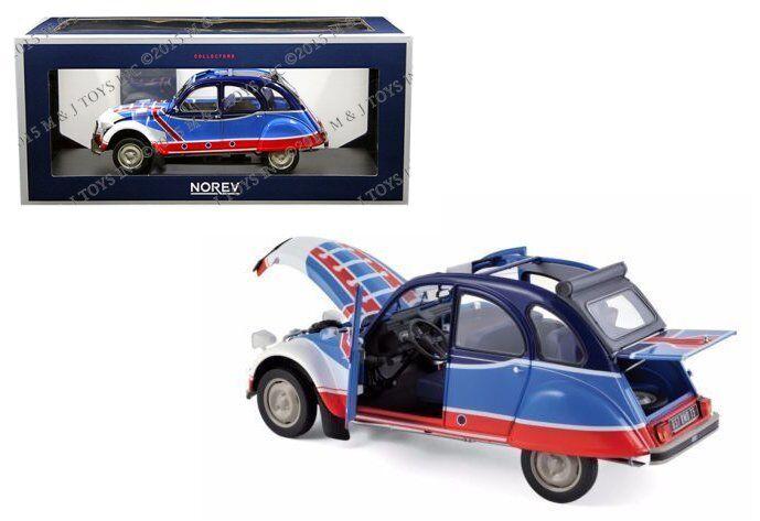NOREV 1 18 1976 CITROEN 2CV 6 BASKET DIECAST CAR MODEL 181498