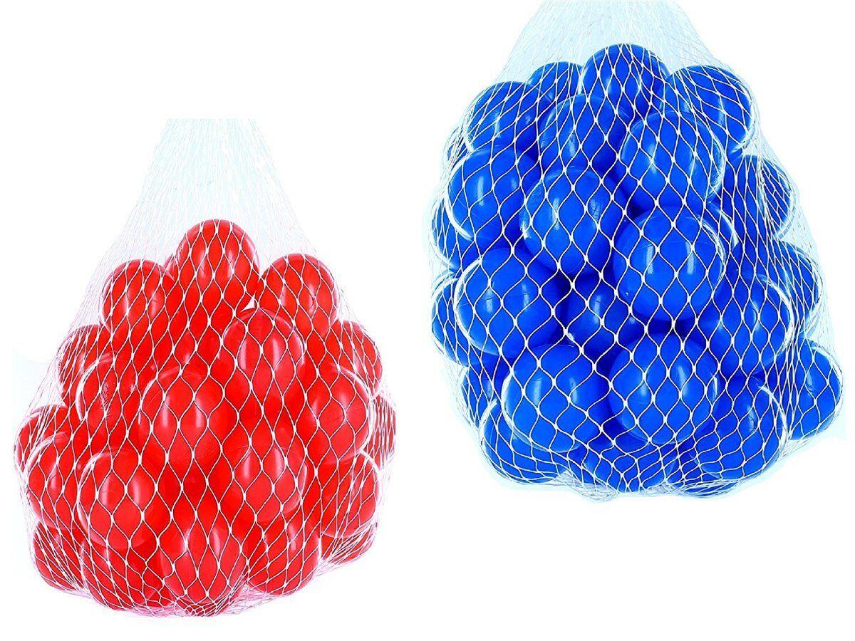 100-10000 Bällebad Bälle 55mm mix blau rot gemischt Farben Baby Kind Spielbälle