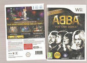 ABBA-Dansez-sur-26-Hits-Legendaires-Jeu-NEUF-Blister-Wii-WiiU