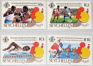 Seychelles seychelles 1985 588-91 572-75 2nd Idian Ocean sport GAMES BOXING MNH-afficher le titre d`origine X1d3prkJ-07140426-665219100