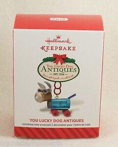 Hallmark 2014 You Lucky Dog Antiques Ornament