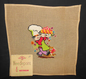 Reynolds-Preworked-FRENCH-CHEF-BAKER-10M-Penelope-Madeira-Needlepoint-Canvas