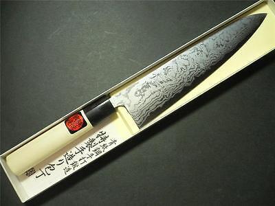 "Tanaka kitchen knife !! Japanese Damascus Blue steel #2 knife ""WA Gyutou"" 210mm"