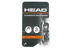 *NEU*2 Head Djokovic Dampener Tennis Dämpfer Shock Novak Damp Vibrastop 2er Tour