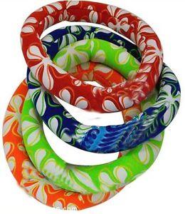 Dive-Ring-Swimming-Pool-Fun-Swim-Neoprene-colourful-Weighted-Rings-Kids-Toy-Hoop