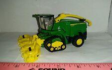 1/64 ertl custom farm toy John deere 8600 spfh chopper with tracks & forage head
