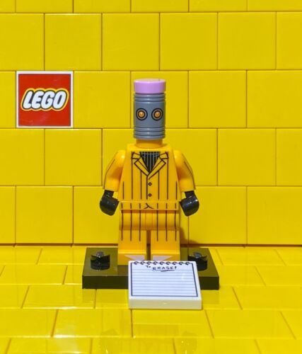 Lego Batman Movie Minifigure Series 1 The Eraser NEW Without Packaging