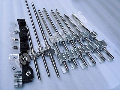 Liner Raill Support/&12 SBR20UU Block Bearing Bearing 2 SBR20-350 //700 //1100MM