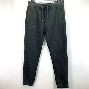 Superdry-Mens-Orange-Label-Moody-Slim-Fit-Jogger-Sweatpants-Gray-L